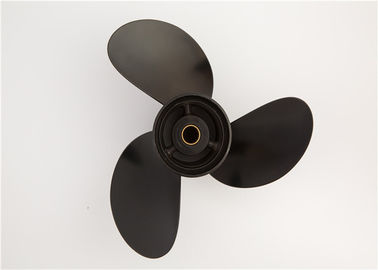 3b2w64517-1 Black Aluminium Boat Propellers For Tohatsu Outboard Engine